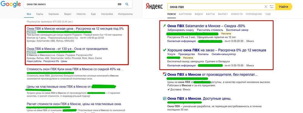 Размещение контекстной рекламы в яндекс директ